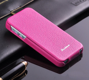 iPhone 5C Leather Pink
