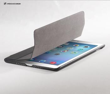 Hoco Duke iPad Air 2 Leather Smart Cover Black