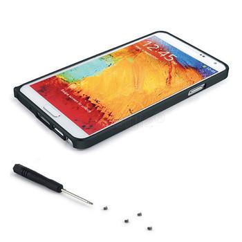 Samsung Galaxy Note 3 Aluminum Thin Bumper Case Black