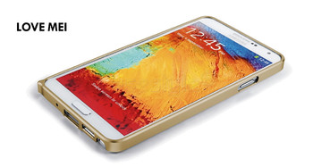 Samsung Galaxy Note 3 Aluminum Thin Bumper Case Gold