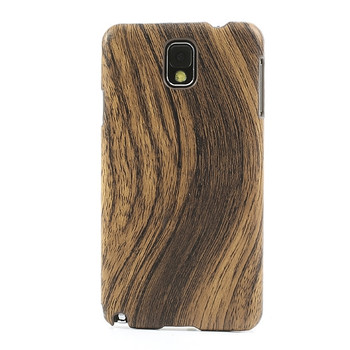 Samsung Galaxy Note 3 Wood Effect Case Dark Brown