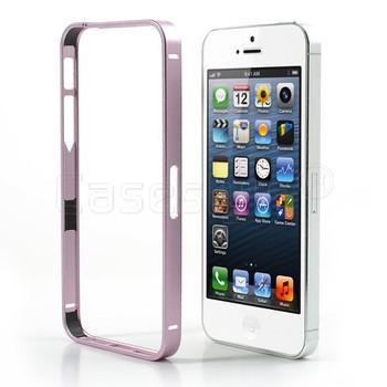 iPhone 5S 5 Thinnest Aluminum Metal Bumper Pink