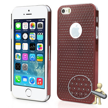 iPhone 5S Metal Thin Case Red