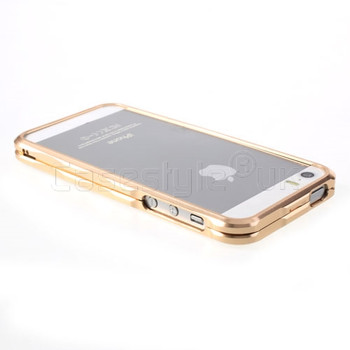 iPhone 5S Metal Bumper Case Champagne Gold