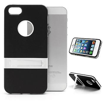 iPhone 5S Silicone Skin+Bumper Black