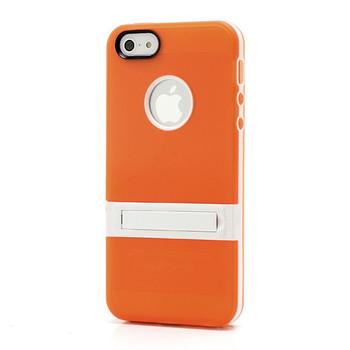 iPhone 5S Silicone Skin+Bumper Orange