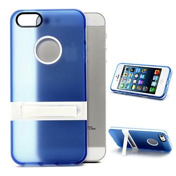 iPhone 5S Silicone Skin+Bumper Blue