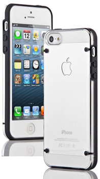 iPhone 5S 5 Bumper Case with Clear Back