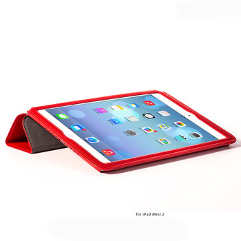 Hoco Armor iPad Mini 4 3 2 Leather Smart Cover Red