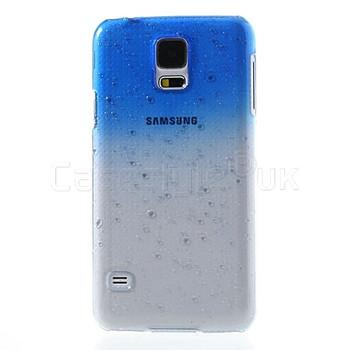 Samsung Galaxy S5|S5 Neo Raindrop Case Blue