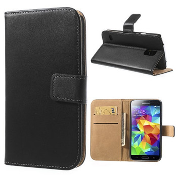 Samsung S5 Neo Genuine Leather Wallet
