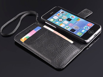 iPhone 5C Genuine Leather Wallet