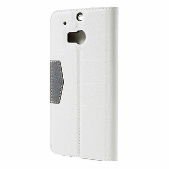 HTC One M8 Wallet Case White