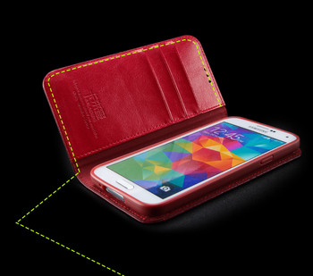Samsung Galaxy S5|S5 NEO Royale Genuine Leather Case Red