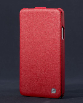 Samsung Galaxy Note 3 Genuine Leather Flip Case Red