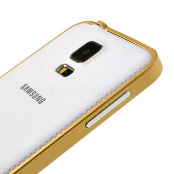 Samsung Galaxy S5|S5 NEO Aluminum Bumper Case Gold