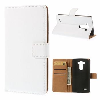 LG G3 white leather case