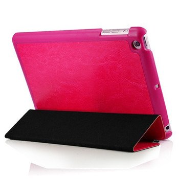 iPad Mini 3 2 Retina Leather Smart Case Pink