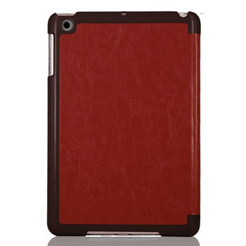 iPad Mini 3 2 Retina Leather Smart Case Brown