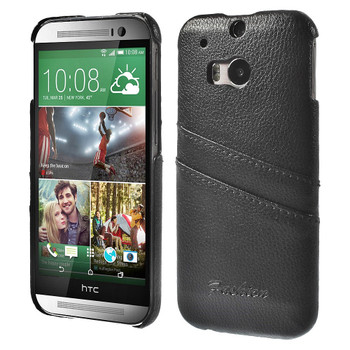 HTC One Leather Back