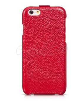 Hoco iPhone 6 6S Premium Leather Flip Case Red