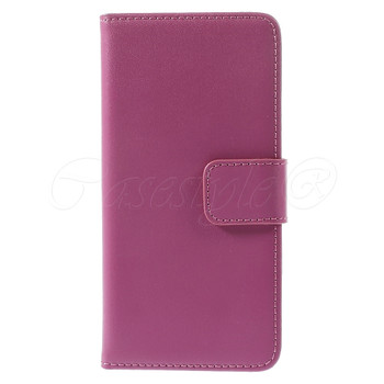 iPhone 6 6S Leather Wallet Case Pink