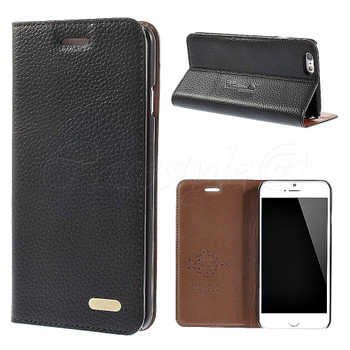 iPhone 6+6S PLUS Genuine Leather Case Black