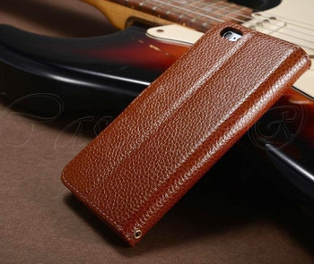 iPhone 6 ID Holder Case Brown