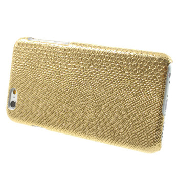iPhone 6 6S SnakeSkin Style Case Gold