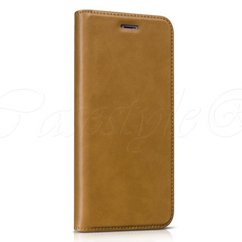 Hoco iPhone 6 6S+PLUS Leather Wallet Case Brown