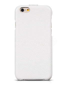 Hoco iPhone 6 6S Premium Leather Flip Case White