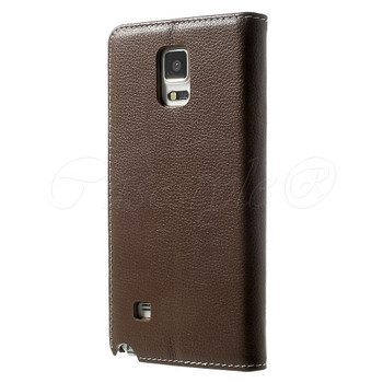 Samsung Galaxy Note 4 Leather Case Brown