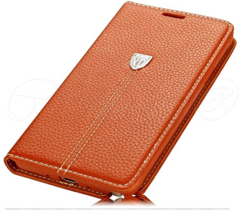 Samsung Galaxy Note 4 Premier Cover Brown