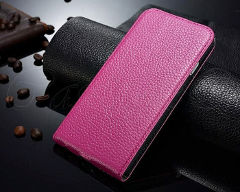 iPhone 6 6S Leather Flip Cover Pink