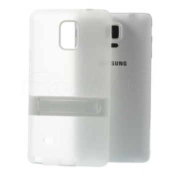 Samsung Galaxy Note 4 Skin Clear with Bumper Stand
