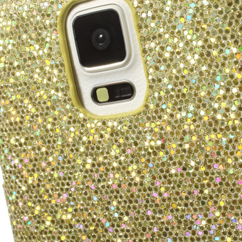 Samsung Galaxy Note 4 Glitter Case Gold