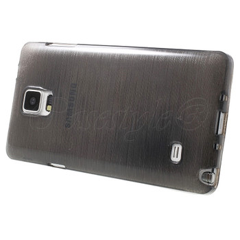 Samsung Galaxy Note 4 Silicone Skin Black