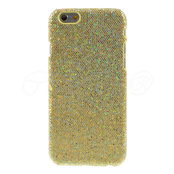 iPhone 6 6S Bling Glitter Case Gold