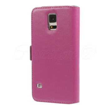 Samsung Galaxy S5/S5 NEO Diamond Leather Case Pink