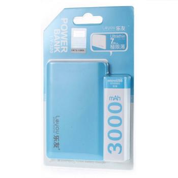 Power Bank Portable Mobile Charger 3000mAh