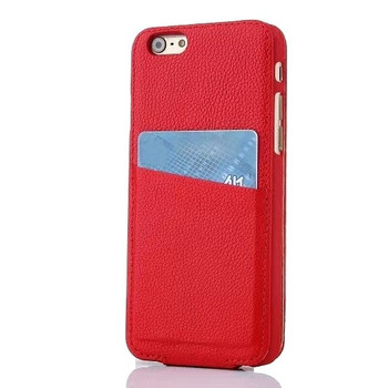iPhone 6 red leather