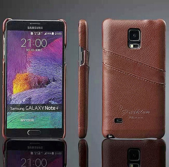 Samsung Note 4 Leather Cover