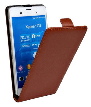 Sony z3 leather flip cover