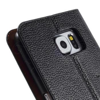 Samsung Galaxy S6 Genuine Leather Case Black