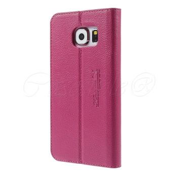 Samsung Galaxy S6 Genuine Leather Case Pink