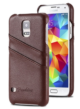 Samsung S5 NEO Leather Cover