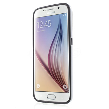 Samsung Galaxy S6 Bumper Stand Case Black