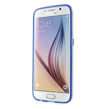 Samsung Galaxy S6 Bumper Stand Case Blue
