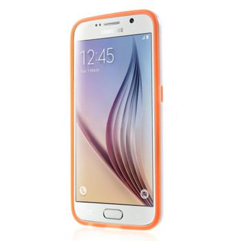 Samsung Galaxy S6 Bumper Stand Case Orange