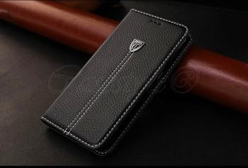 Samsung Galaxy S6 Premier Leather Case Black